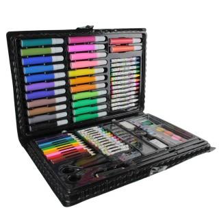 Mallette de coloriage Arc en ciel - 86 Accessoires