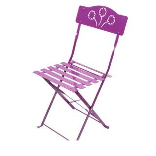 Chaise pliante Bistro - Violet
