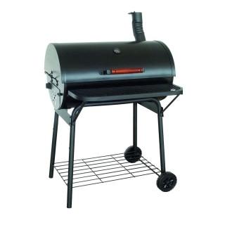 Barbecue avec cheminée Kentucky - Ardoise