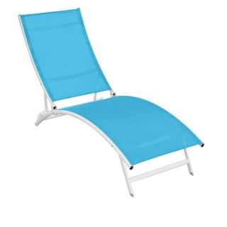 Chaise longue Catania - Turquoise