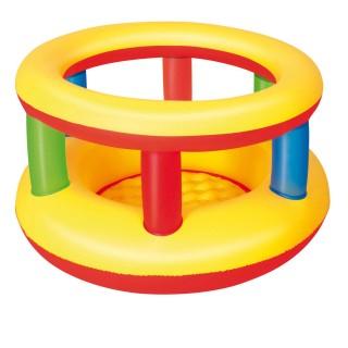 Parc trampoline pour bébé gonflable - Multicolore