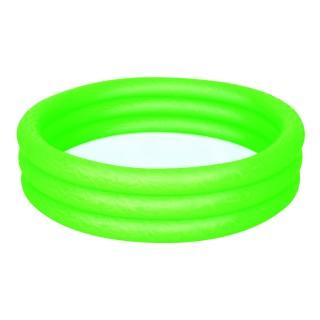 Piscine gonflable 3 boudins Atlantica - Diam. 1,2 m - Verte