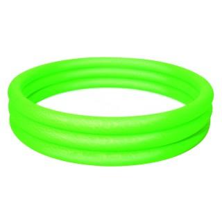 Piscine gonflable 3 boudins Atlantica - Diam. 1,5 m - Vert