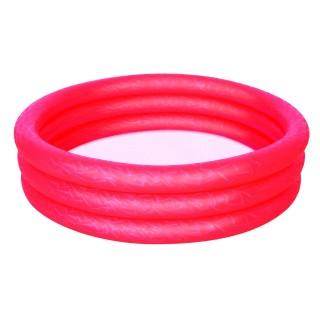 Piscine gonflable 3 boudins Atlantica - Diam. 1 m - Rouge