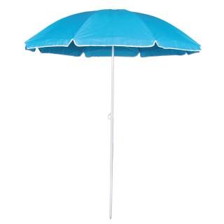 Parasol de plage Coco - Diam. 1,8 m - Bleu