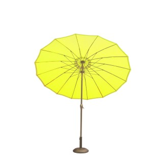 Parasol rond Orfeas - Diam. 2,70 m - Jaune