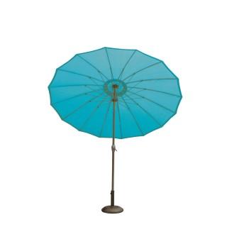 Parasol rond Orfeas - Diam. 2,70 m - Bleu