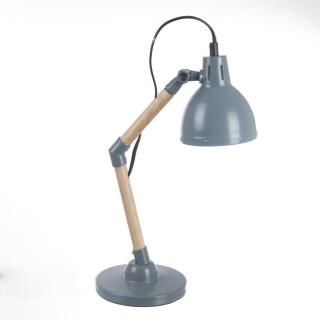 Lampe de bureau Nature - H. 38 cm - Gris