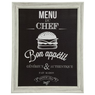 Cadre Chef - 40 x 50 cm - Burger