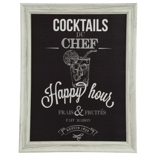 Cadre Chef - 40 x 50 cm - Cocktails