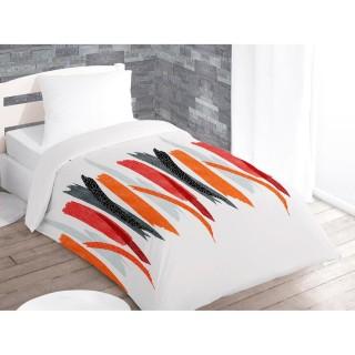 Couette imprimée Tulle Blanc - 140 x 200