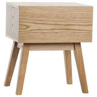 Table de chevet Flinn - Un tiroir - Bois