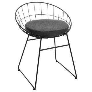 Chaise design Modern - Noir
