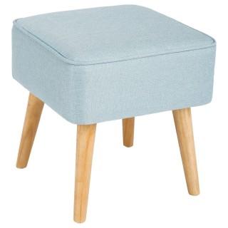 Tabouret carré Tomaz - Bleu