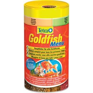 Nourriture Poissons rouges et d'eau froide Tetra Goldfish Menu - 250 ml