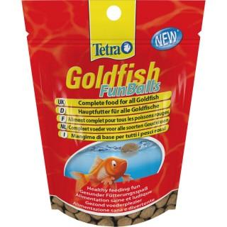 Nourriture Poissons rouges Tetra Goldfish Funballs - 90 balles