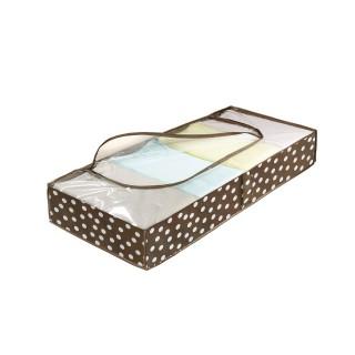Range-dessous de lit pour vêtements Pretty Woman - 105 x 45 cm - Marron