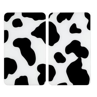 2 Couvres-plaques universel Vache - 52 x 30 cm - Vache