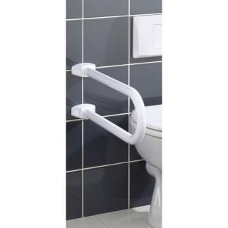Barre de soutien pour salle de bain Secura - Blanc