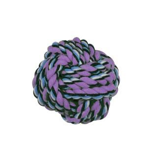 Jouet pour chien - Balle en corde - Multicolore