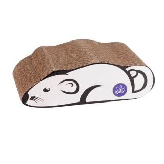 Griffoir pour chat - Souris - Blanc