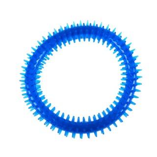 Jouet pour chien - Anneau dentaire Diam. 16 cm - Bleu