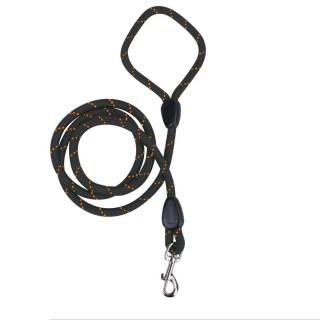 Laisse pour chien en corde - 150 cm - Noir