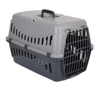 Panier de transport chien et chat XXL Gipsy - 55 x 29 x 42 cm - Gris