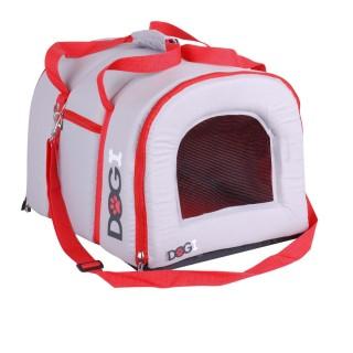 Sac de voyage pour chien Dogi - Avec anse - Rouge