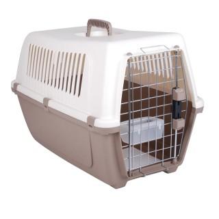 Panier de transport chien et chat Vision - Taille L - Taupe