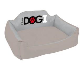 Panier pour chien rembourré Dogi - Taille XL - Taupe