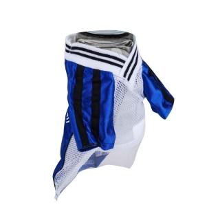 T-shirt pour chien Football - Taille L - Bleu