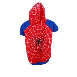 Costume pour chien Araignée - Taille M - Rouge