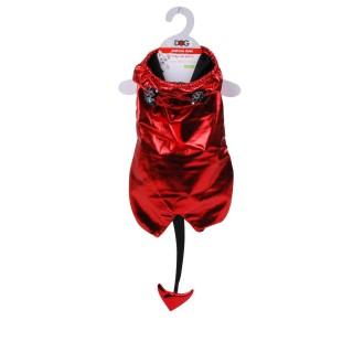 Costume pour chien Démon - Taille S - Rouge