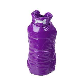 Doudoune pour chien Os - Taille M - Violet