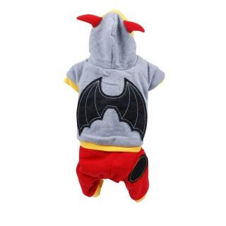 Costume pour chien Ailes - Taille M - Gris