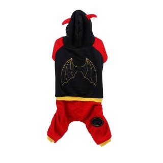 Costume pour chien Ailes - Taille M - Noir
