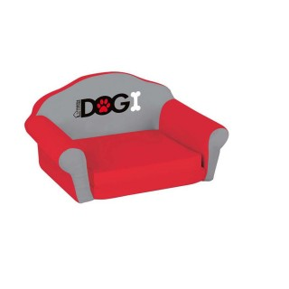 Sofa pour chien Dogi - Taille S - Rouge