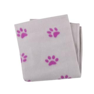 Plaid pour chien - 100 x 70 cm - Violet