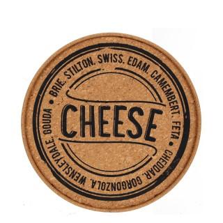 Plateau en liège - Diam. 30 cm - Cheese