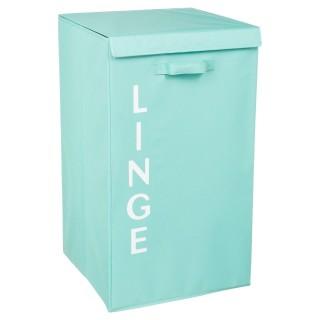 Panier à linge - 36 x 63 cm - Bleu clair