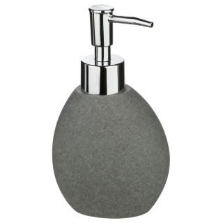 Distributeur de savon Stone - Gris foncé