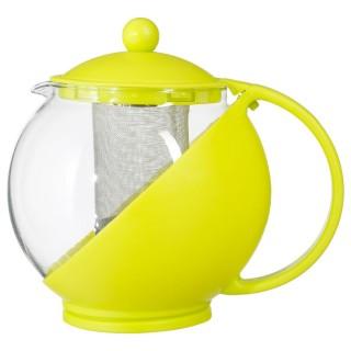 Théière avec filtre Colorée - 1,25 L - Vert anis