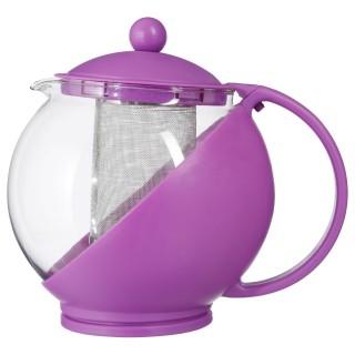 Théière avec filtre Colorée - 1,25 L - Violet