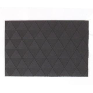 Paillasson Triangle - 60 x 40 cm - Gris