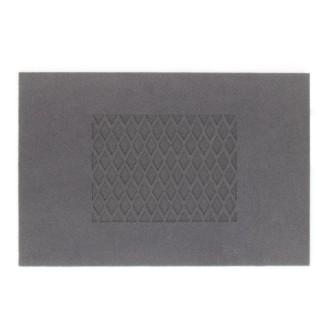 Paillasson Croisillon - 60 x 40 cm - Gris