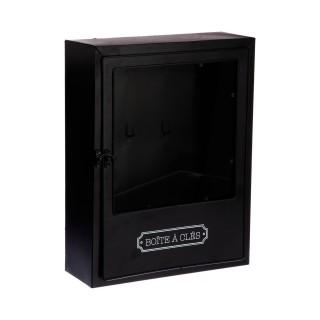 Boîte à clés Welcome - 30 x 23 cm - Noir