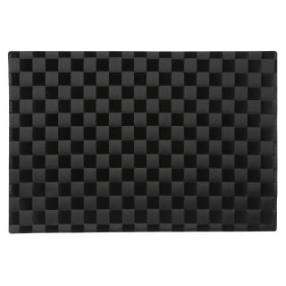 Set de table Carrés - 45 x 30 cm - Noir