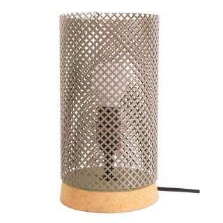 Lampe à poser Liége - H. 24 cm - Taupe