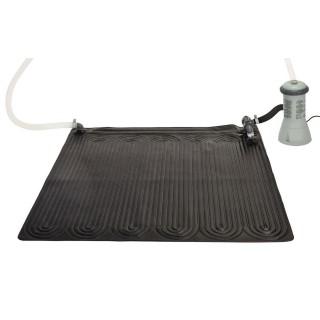 Tapis solaire pour piscine - 120 x 120 cm - Noir